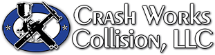 Crash Works Collision, LLC Logo